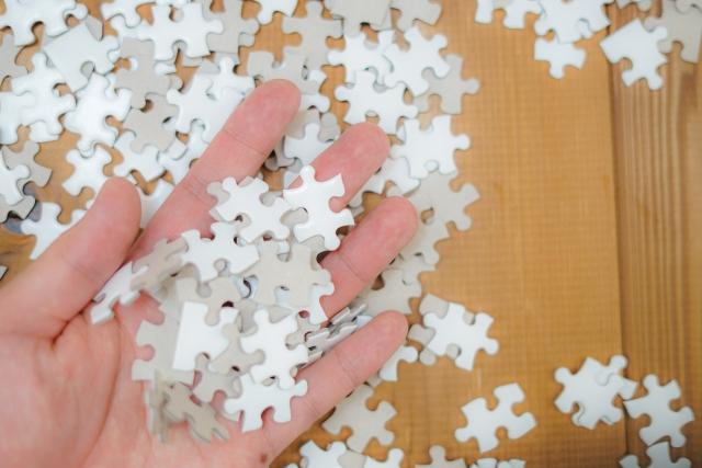 外出自粛の今だからこそパズルはいかが?簡単にできるコツ教えます!